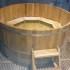 Купель круглая деревянная