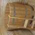 Купель деревянная овальная