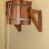 Обливное устройство деревянное со вставкой