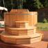 Офуро деревянная