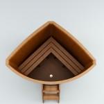 Купель угловая деревянная (4)