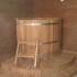 Купель угловая деревянная